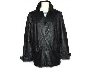 KOŽENÁ pánská černá měkká bunda Milan Leather M