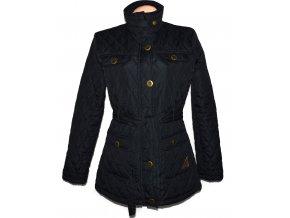 Dámský prošívaný kabát s páskem Kangol L