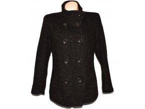 Dámský hnědý kabát Montego L
