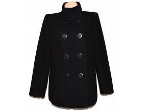 Dámský černý kabát Papaya UK 16