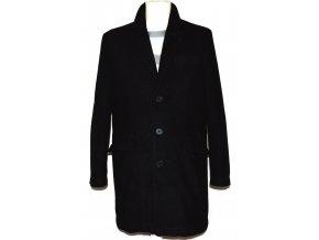 Vlněný pánský černý kabát Butler&Webb M