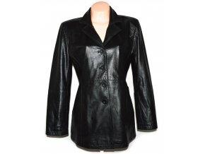 KOŽENÝ dámský černý měkký kabát LAKELAND