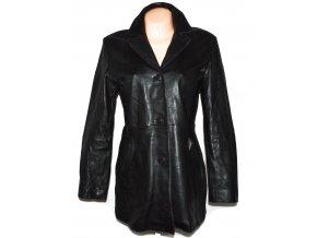 KOŽENÝ dámský černý měkký kabát LAKELAND L