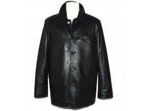 KOŽENÁ pánská černá měkká bunda CIRO CITTERIO M