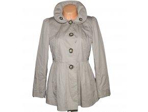 Bavlněný dámský béžový kabát NEXT L