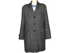Vlněný pánský melírovaný kabát Dreamweaver L