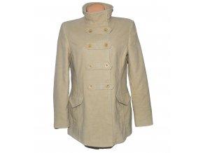 Bavlněný dámský béžový kabát Debenhams L