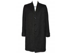 Vlněný pánský šedý kabát BURTON L