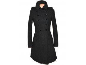 Vlněný dámský šedý kabát CLOCKHOUSE S