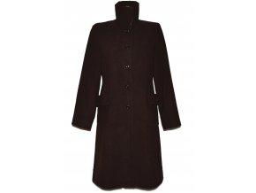 Dámský dlouhý hnědý kabát Outer Edge L