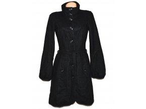 Vlněný dámský šedý kabát s páskem Vero Moda M