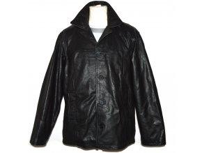 KOŽENÁ pánská černá zateplená bunda LAKELAND L