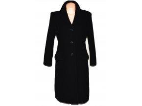 Vlněný dámský dlouhý černý kabát Massimo Rossi M/L
