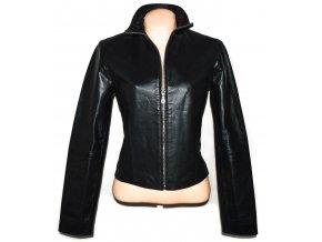 KOŽENÁ dámská černá bunda ONLY S