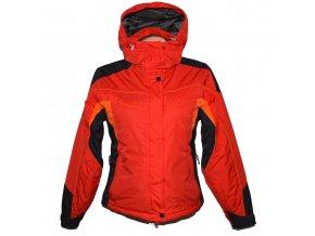 Lyžařská dámská červená bunda s kapucí LOAP S