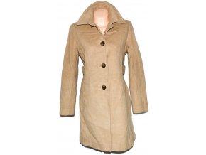 Vlněný dámský béžový kabát Larry Levine M