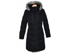 Dámský černý šusťákový kabát s kapucí Hannah 40