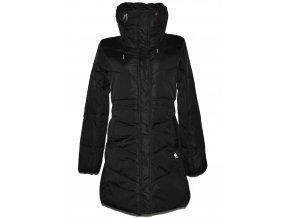 Péřový dámský černý kabát Abercrombie & Fitch