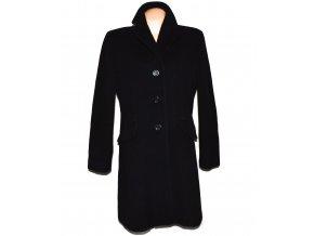 Vlněný (80%) dámský černý kabát Marco Pecci (vlna, kašmír) XL