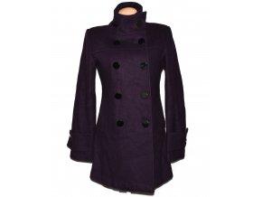 Vlněný dámský fialový kabát Orsay 40