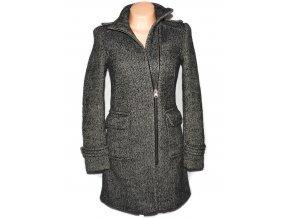 Dámský hnědý melírovaný kabát - křivák Clockhouse XS