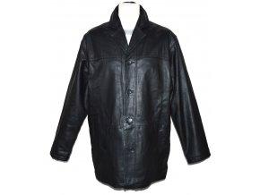 KOŽENÁ pánská černá měkká zateplená bunda INFUSE M, L, XL