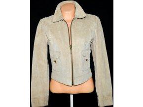 KOŽENÁ dámská bunda na zip FIORELLI L