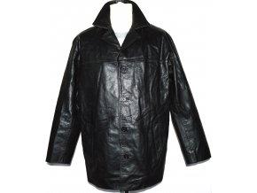KOŽENÁ pánská černá bunda SARDAR LONDON vel. M