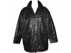 KOŽENÁ pánská černá bunda CIRO CITTERIO XL