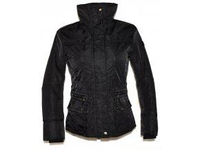 Dámská černá šusťáková bunda na zip, cvoky MATOGLA S
