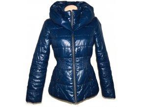 Dámský modrý šusťákový kabátek na zip ORSAY S