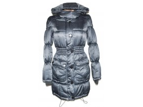 Dámský šedý šusťákový kabát s kapucí VERO MODA XS