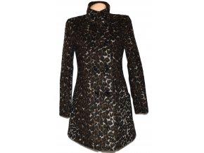Vlněný dámský leopardí kabát F&F M