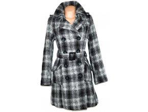 Vlněný dámský kabát s páskem Bennyfish L
