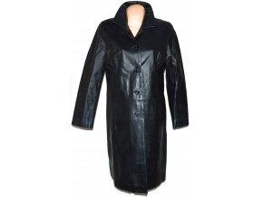 KOŽENÝ dámský černý měkký kabát Gesur L - Coat-Master.cz b093f96a71