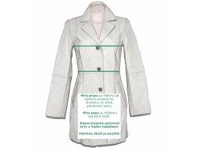 Vlněný dámský kabát s páskem C&A - YESSICA S