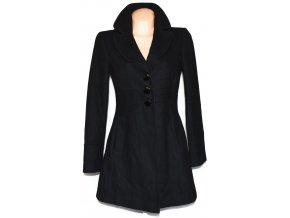 Vlněný dámský černý kabát GEORGE XXL