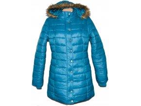 Dámský šusťákový tyrkysový kabát s kapucí Cherokee XL