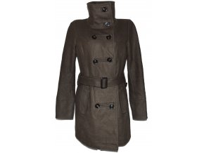 Vlněný dámský kabát s páskem C&A - YESSICA S, L