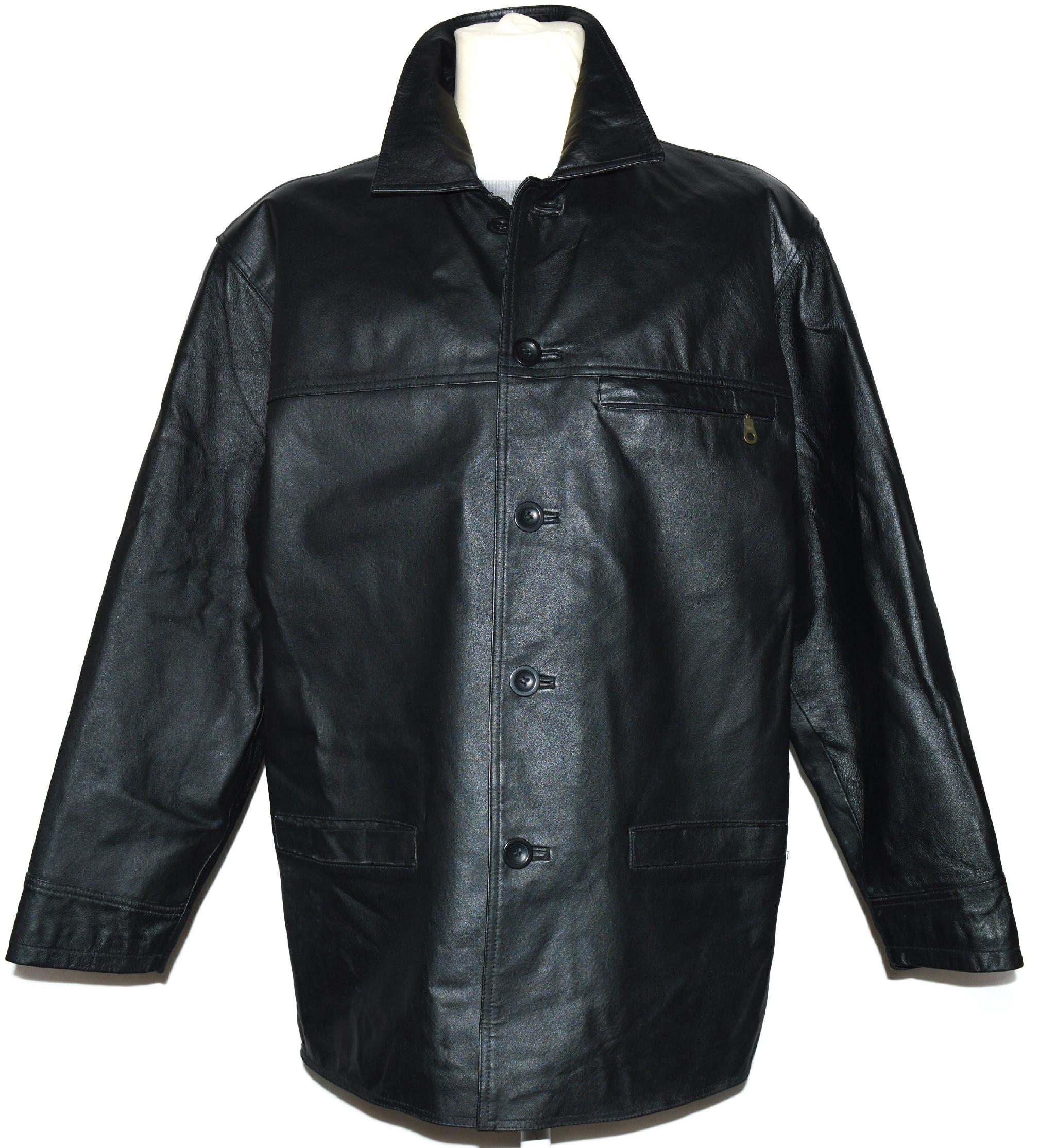 KOŽENÁ pánská černá bunda CERO L