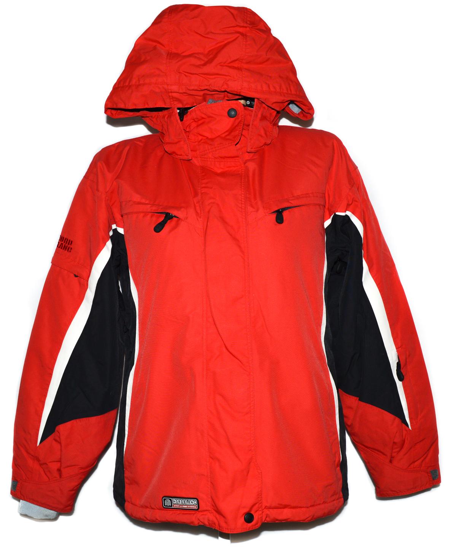 Lyžařská dámská červená bunda s kapucí Nord Blanc 38