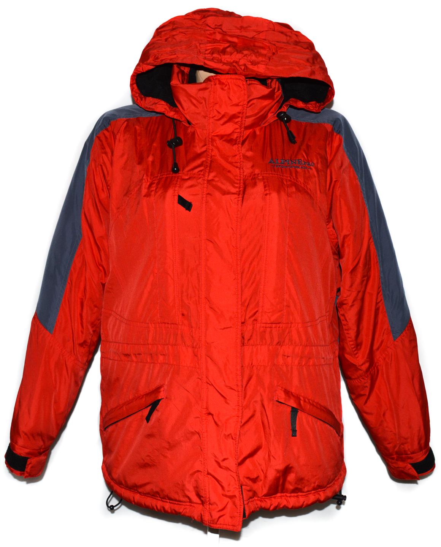 Dámská červená bunda s kapucí ALPINE PRO L