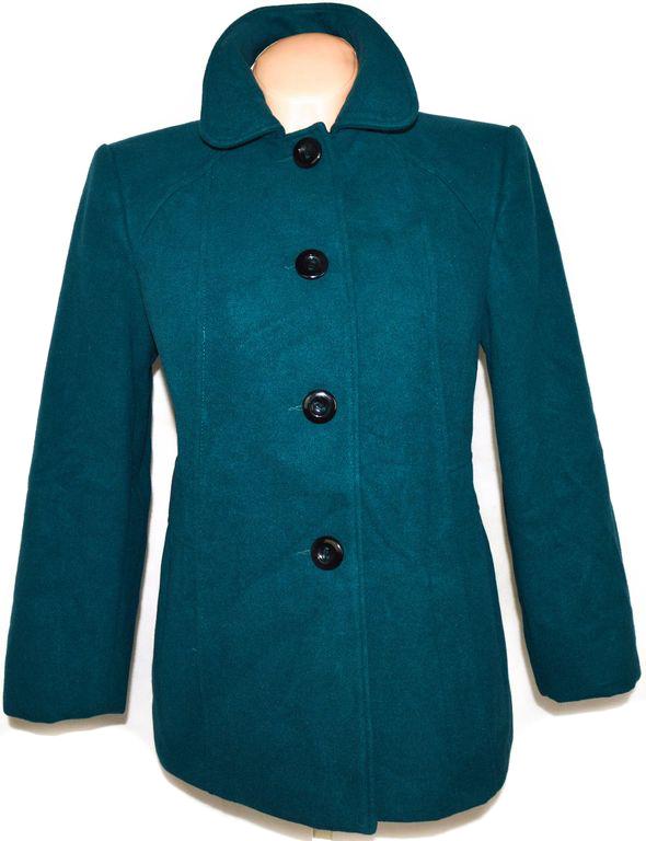 Dámský modrý - petrolejový kabát BHS 12/40
