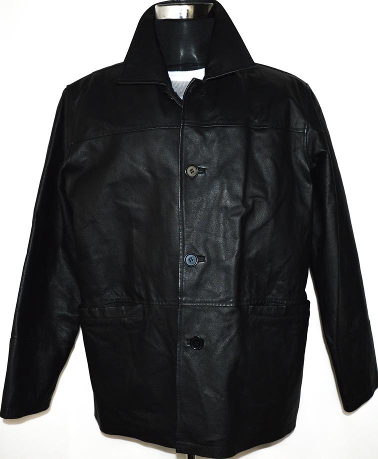 KOŽENÁ pánská černá bunda MARTINEK vel. XL