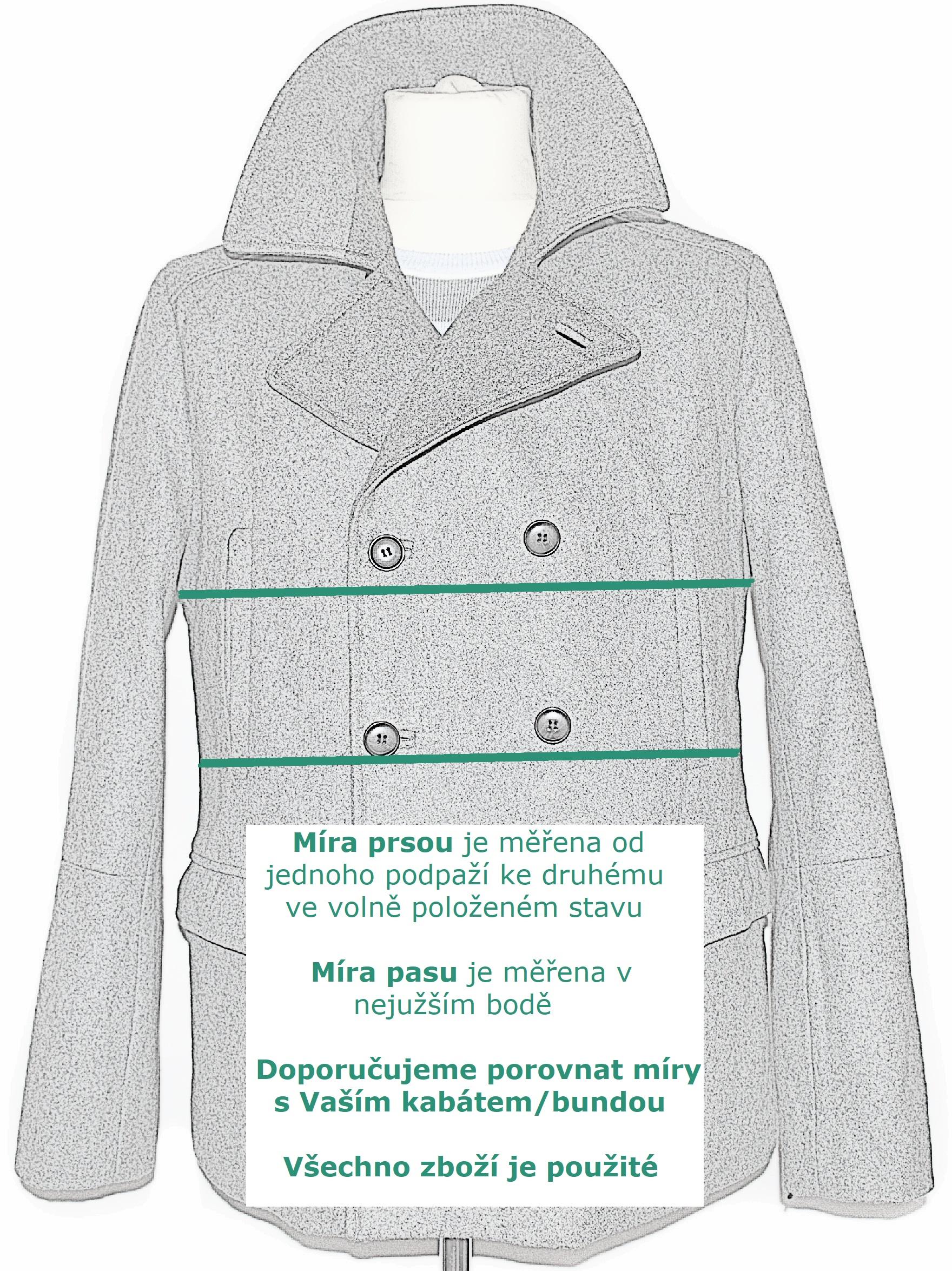 KOŽENÁ pánská béžová bunda na zip BURTON vel. M