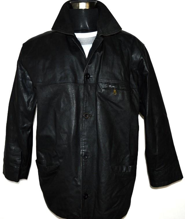 KOŽENÁ pánská černá bunda MATINEE vel. M, XL