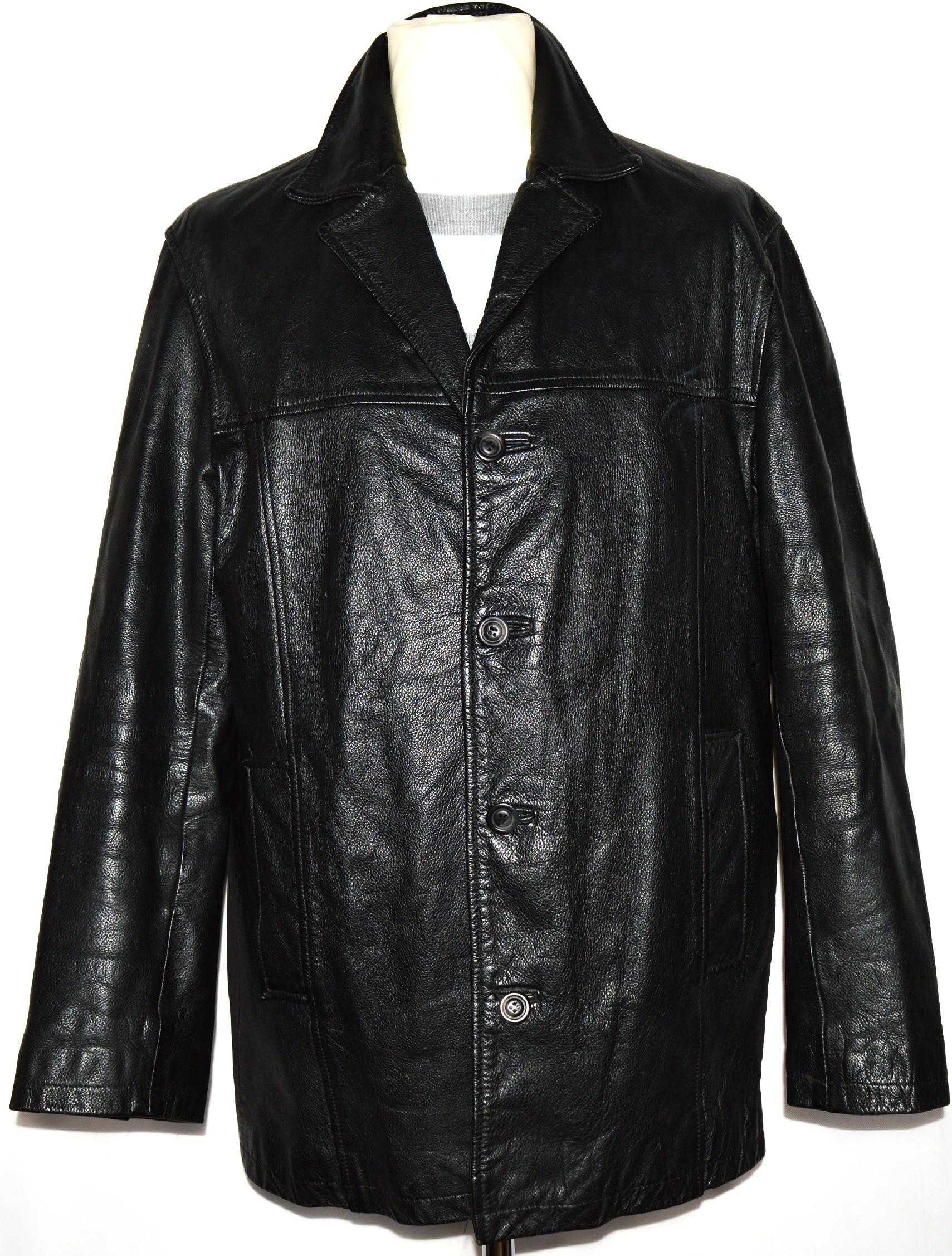 KOŽENÁ pánská černá bunda MATINEE vel. L