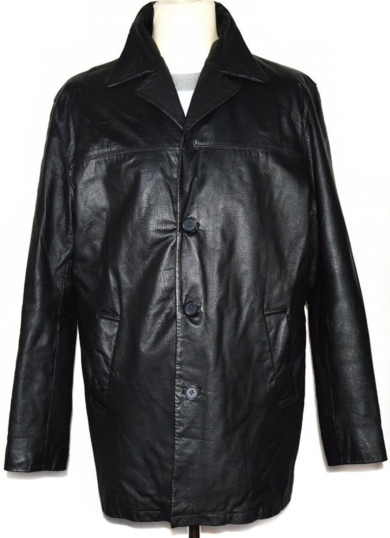 KOŽENÁ pánská černá bunda CERO XL