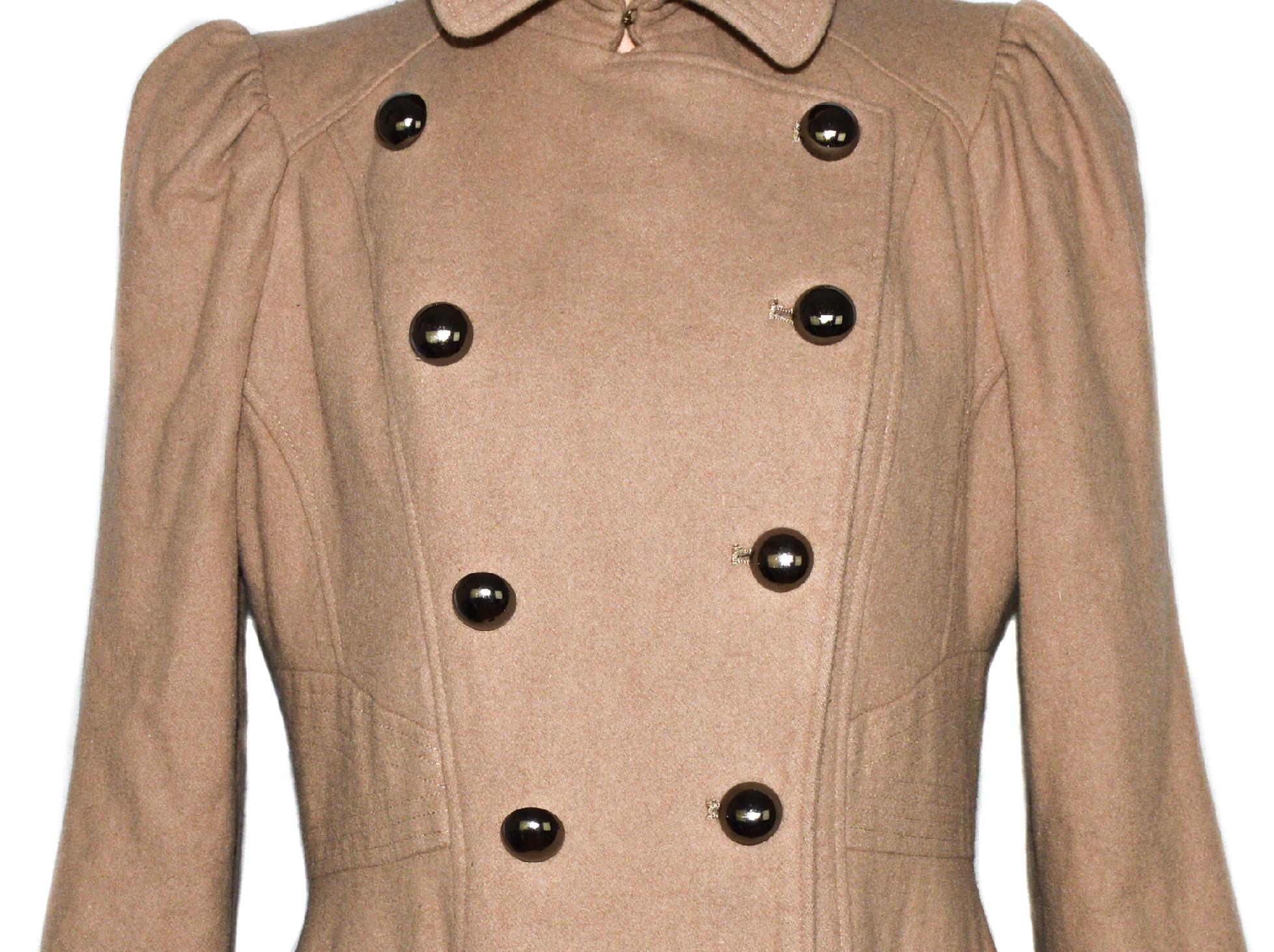ab27a3403a2 Vlněný dámský béžový kabát NEXT XXL   XXXL