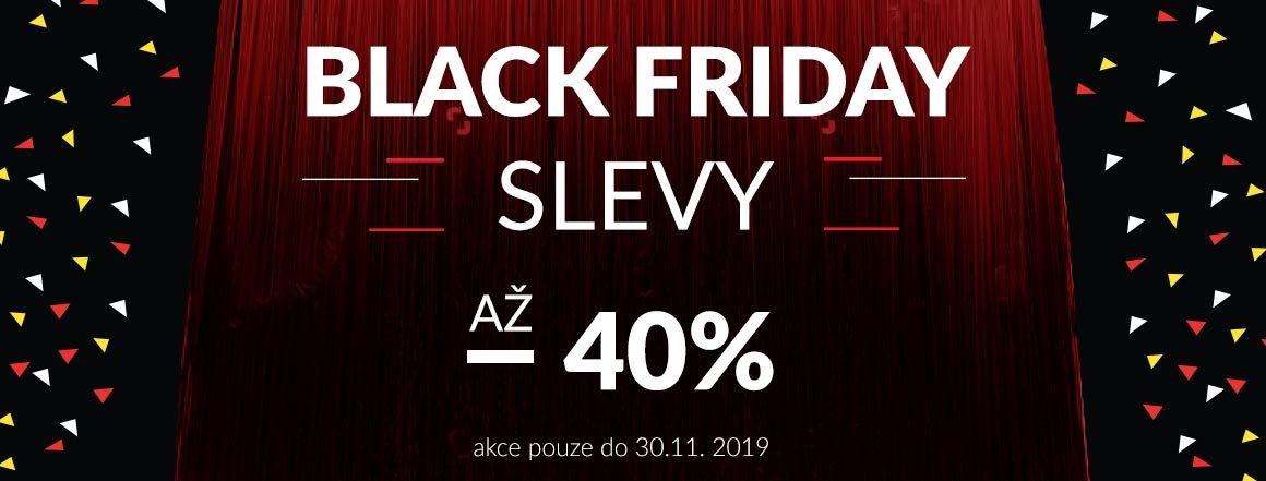 black friday, slevy až 40%